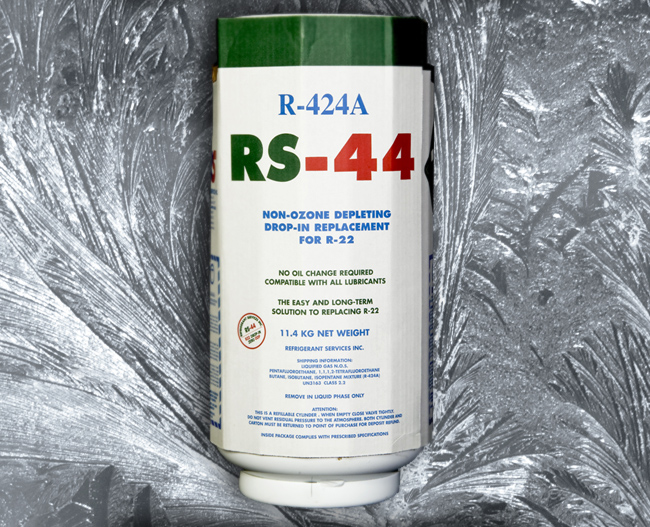 RS44 / R424A replacement for all R22 a/c systems